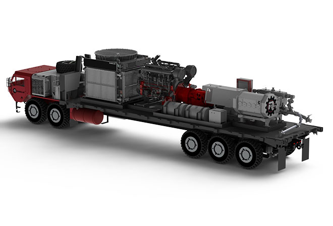 Frac Pump Unit - Ranglar Manufacturing